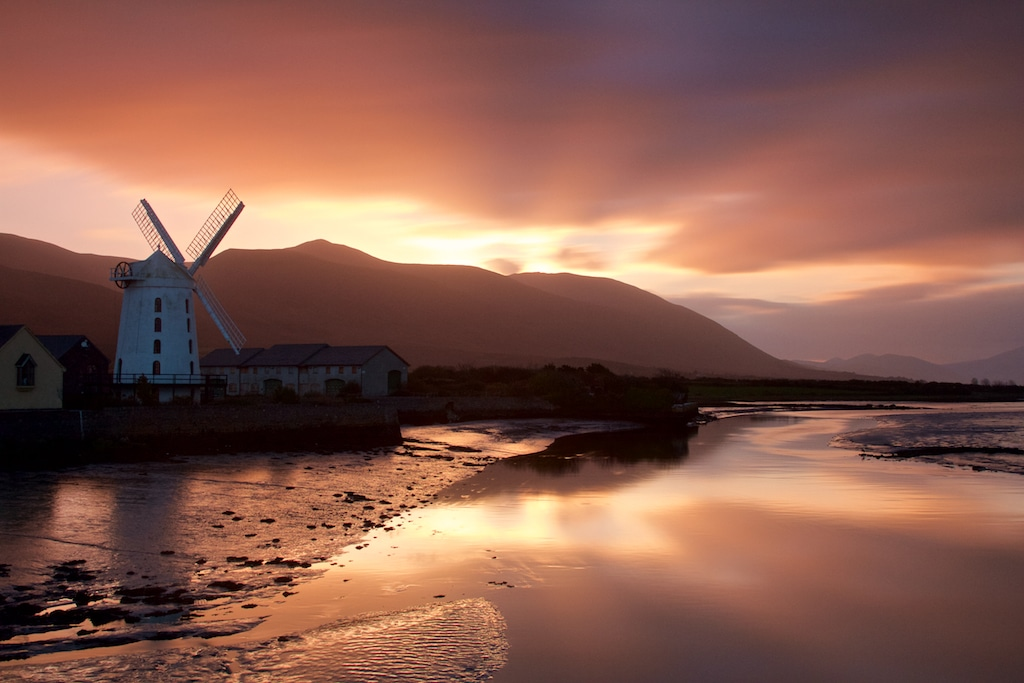 Blennerville Windmill, Tralee, Co. Kerry, on the Wild Atlantic Way Driving Route