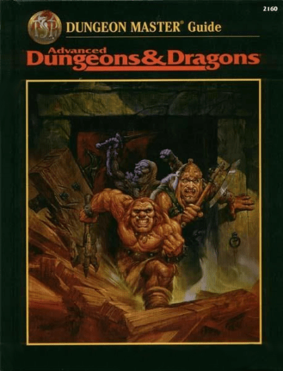AD&D Dungeon Masters Guide 2nd Edition Revised