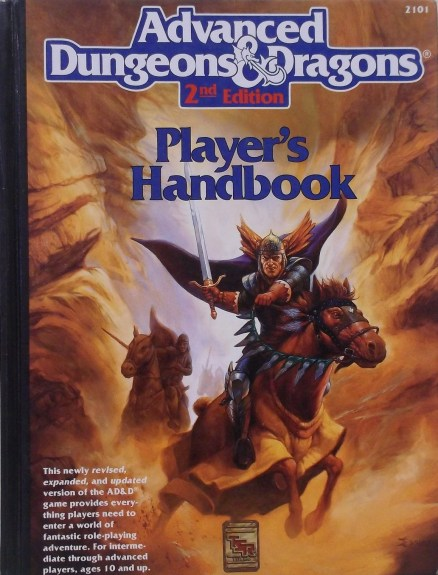 AD&D Players Handbook 2nd Edition