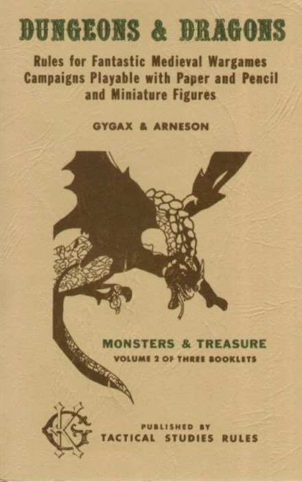 OD&D Volume 2 Monsters & Treasure
