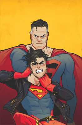 I'm really hoping Superboy reverses this and punches dude in his super nose