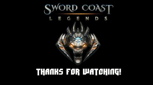 Sword Coast Legends live stream title