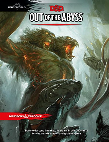 D&D Out of the Abyss cover