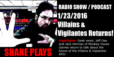 shane plays podcast title 1-23-2016