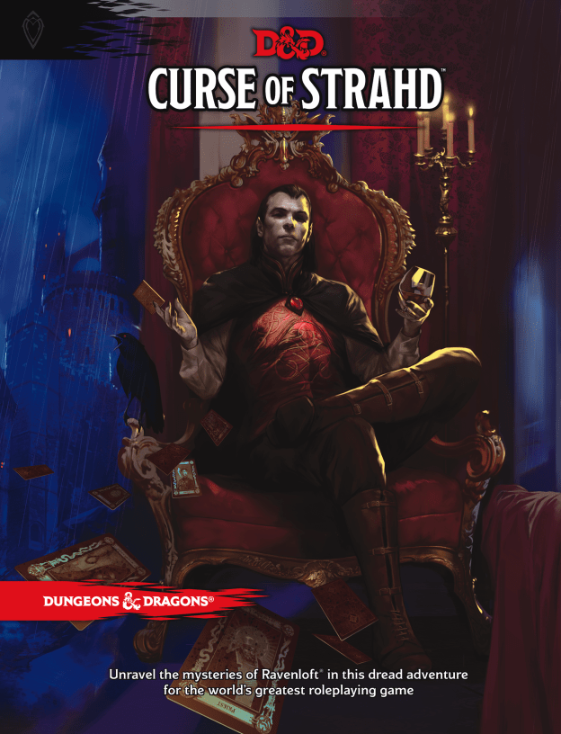 d&d curse of strahd front cover
