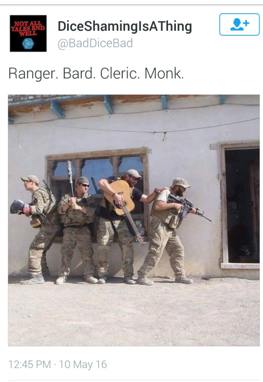 d&d meme army party