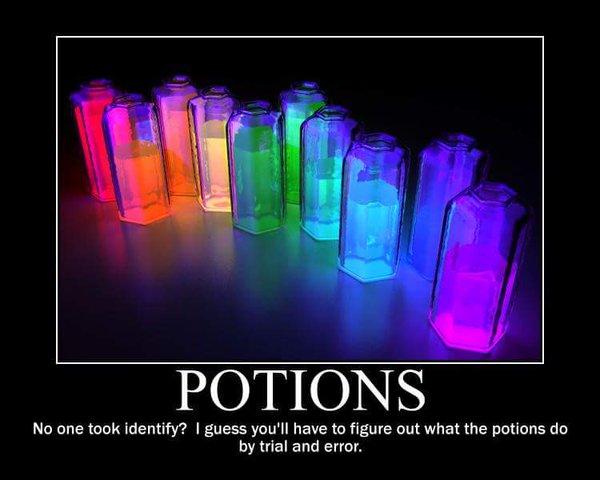 d&d meme potions