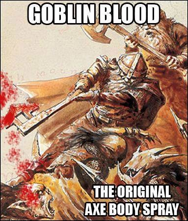 d&d meme goblin blood
