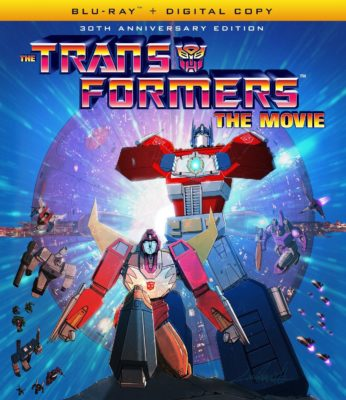 transformers the movie blu ray