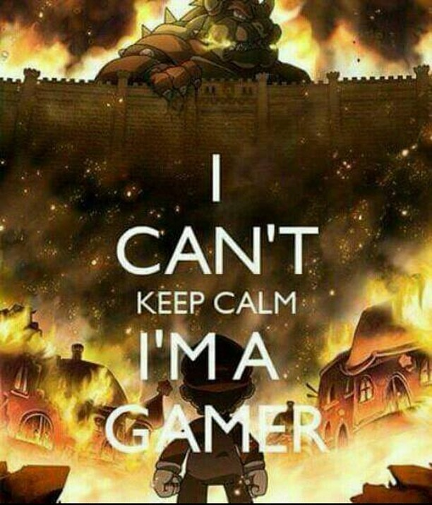 d&d meme i cant keep calm im a gamer