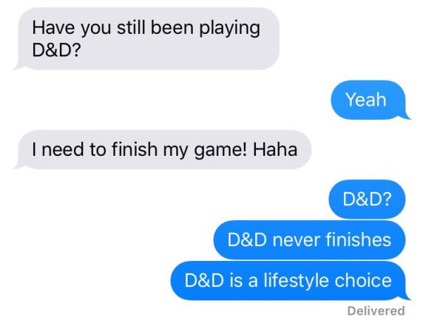 d&d meme its a lifestyle choice