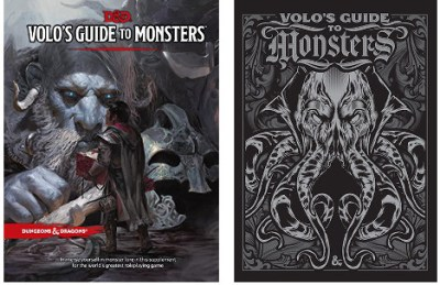 d&d volo's guide to monsters standard and special edition covers