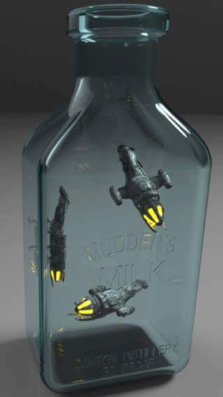 geek meme firefly bottle