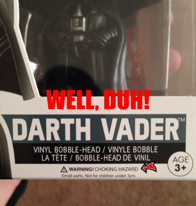 geek meme darth vader choking hazard