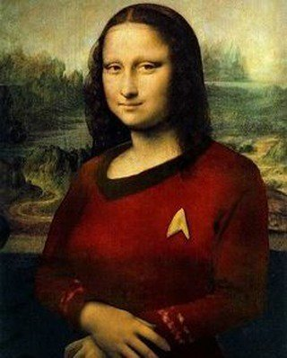 geek meme star trek mona lisa