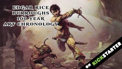 edgar rice burroughs art kickstarter