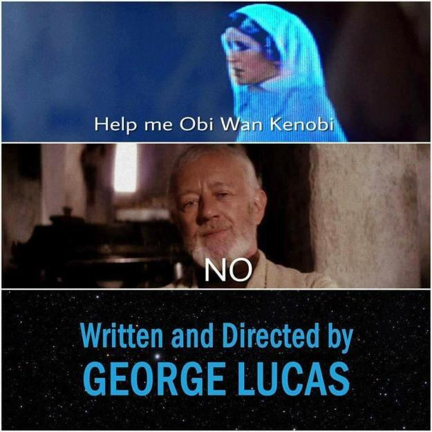 geek meme short star wars movie