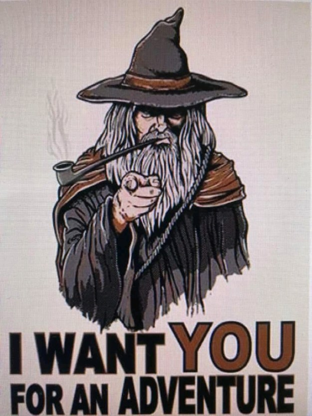d&d meme i want you for adventure