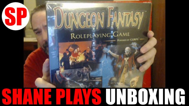 gurps dungeon fantasy unboxing thumbnail