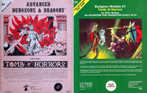 tomb of horrors classic covers