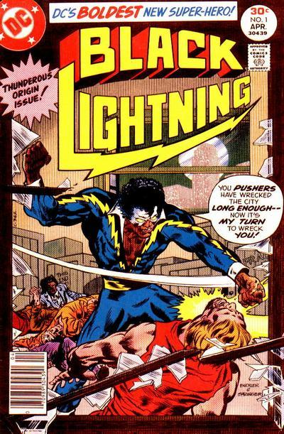 Black Lightning comic book number one