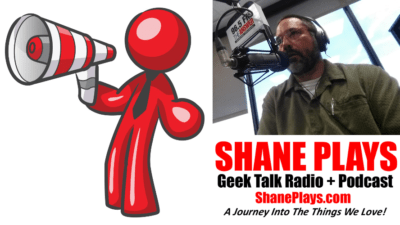 advertise with shane plays megaphone