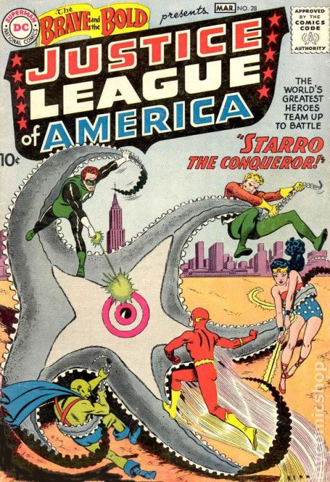 brave and the bold 28 first justice league