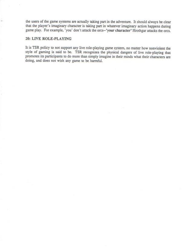 tsr code of ethics 4 james lowder version