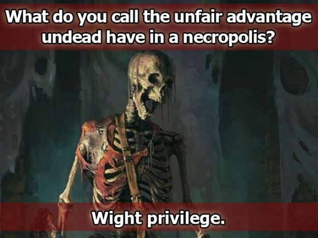 d&d meme wight privilege