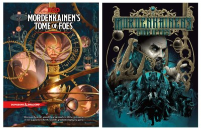 d&d mordenkainen's tome of foes standard and premium covers