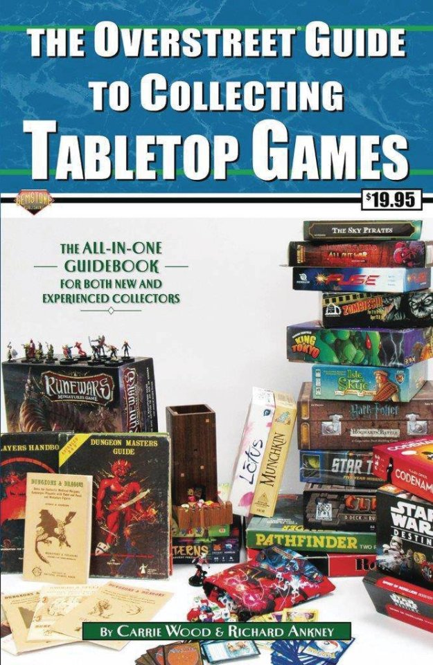 overstreet guide to collecting tabletop games cover