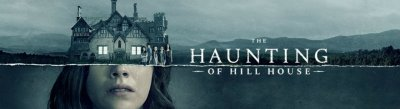 the haunting of hill house logo and imagery