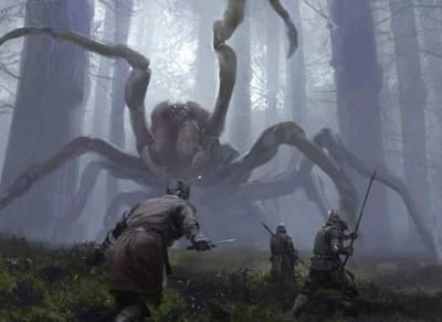 giant spider fight jaime jones