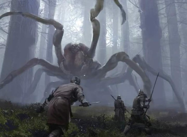 giant spider fight jaime jones