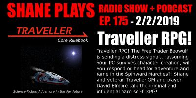 traveller rpg shane plays podcast title 2-2-2019