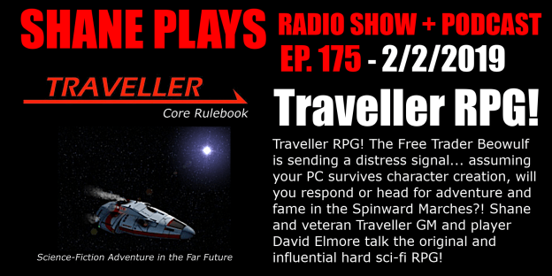 traveller rpg shane plays podcast title 2-2-2019