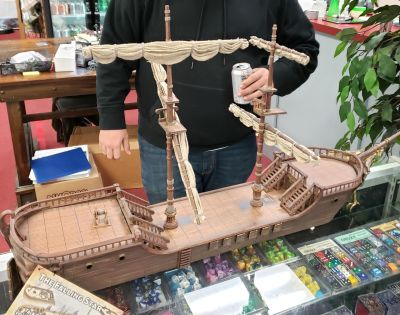 d&d the falling star sailing ship post featured image