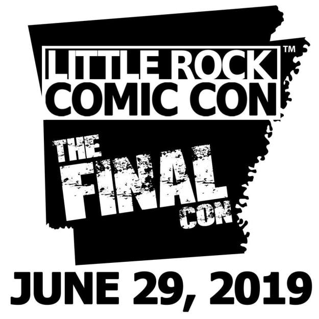 little rock comic con the final con 2019 logo