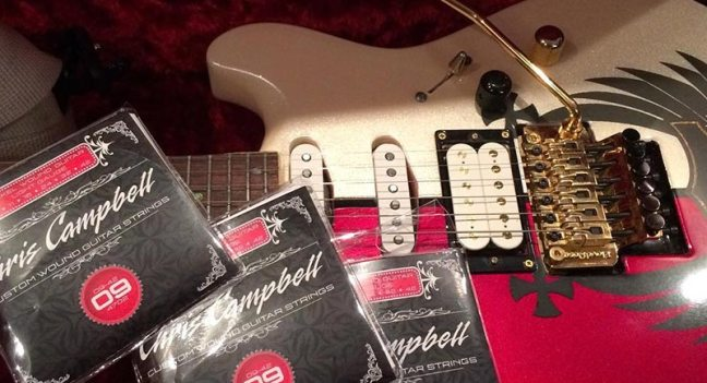 chris campbell guitar strings