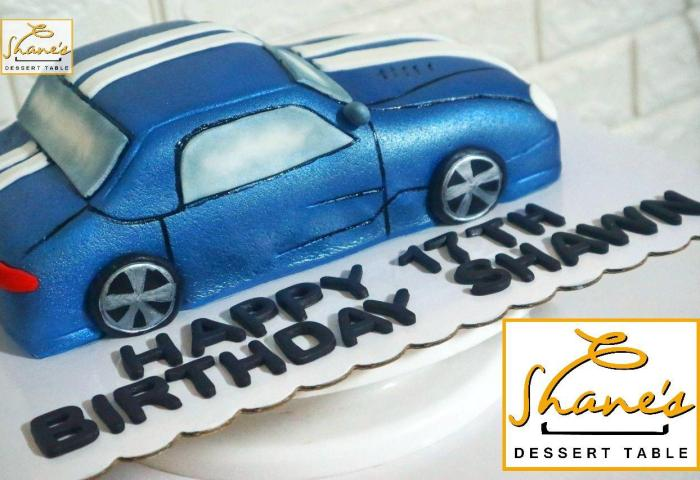3d Car Cake 2 Shanes Dessert Table