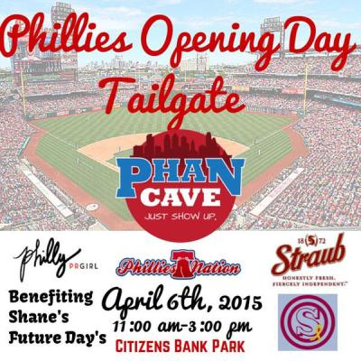 Philadelphia Phillies Opening Day Tailgate Post