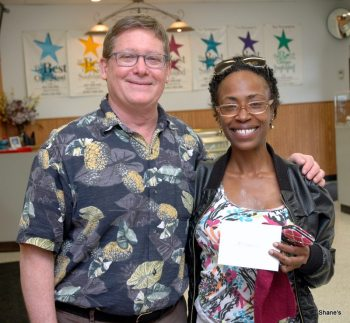 Shane's The Pawn Shop 101st Raffle Winner! Mekele Lee