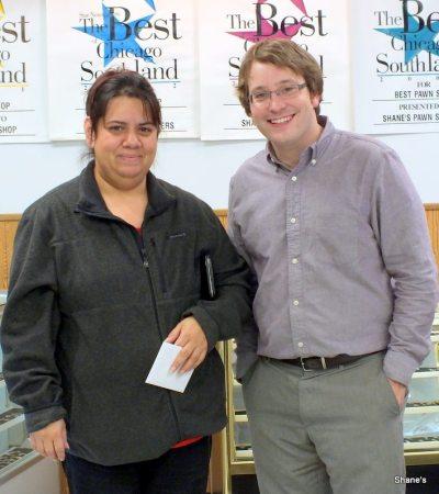 Shane's The Pawn Shop 118th Raffle Winner! Josefina Valencia