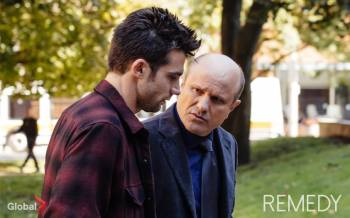 Griffin (Dillon Casey) and Allen (Enrico Colantoni).