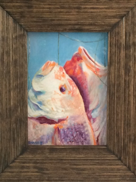 Fish Pastel Painting