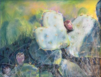 Prickly Pear Painting