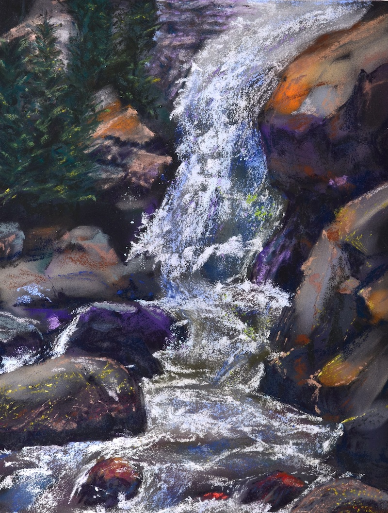 Waterfall artwork