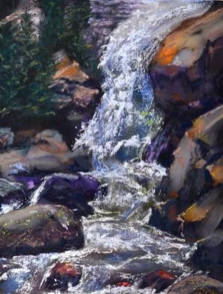 Waterfall artwork