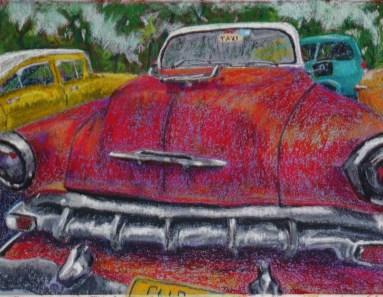 Havana car artwork
