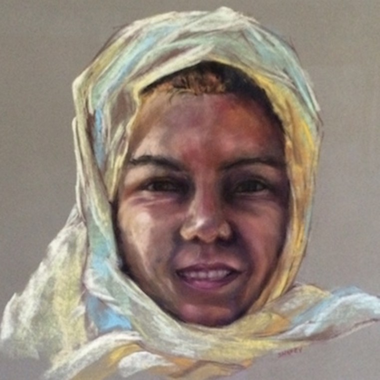 Portrait Art in Pastels